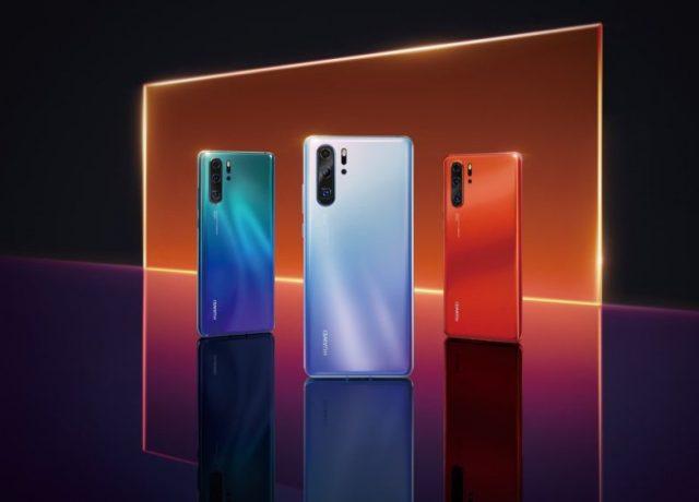 Huawei P30 ve Huawei P30 Pro tasarımı