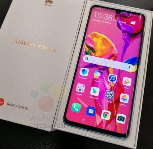 Huawei P30 Pro kutu içeriği