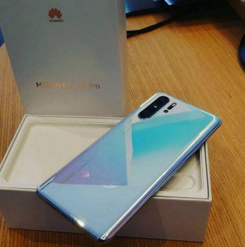Huawei P30 Pro kutu açılışı