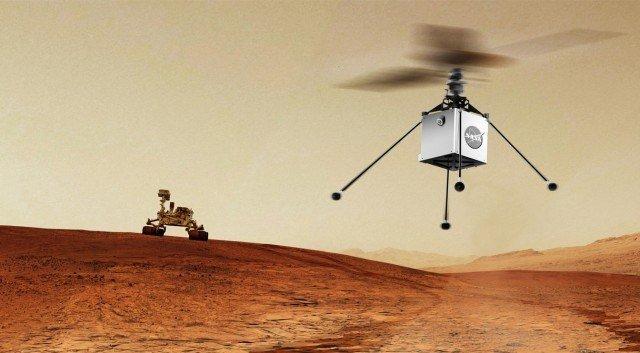 Mars helikopteri