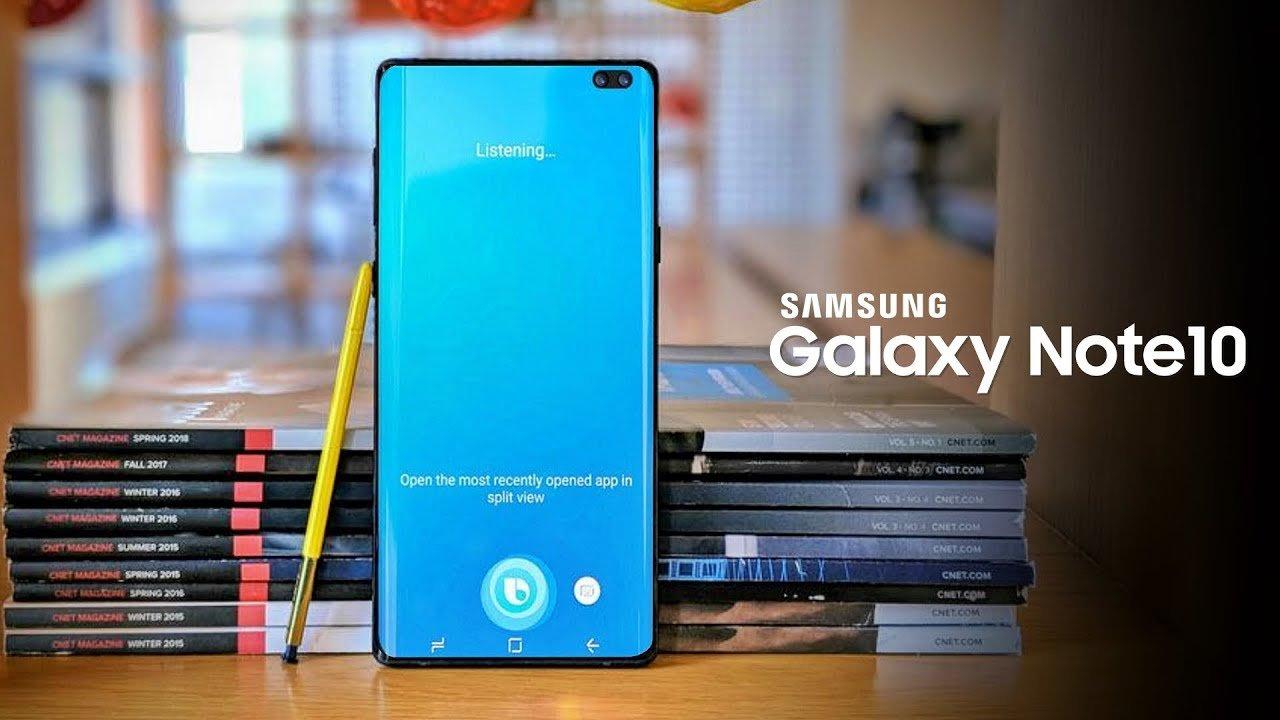 Samsung Galaxy Note 10 ekran boyutu