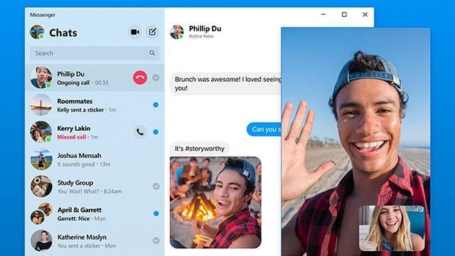 Facebook Messenger Masaüstü Uygulaması