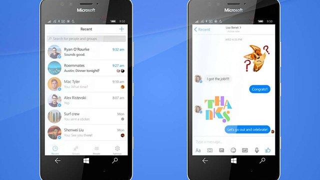 Messenger Windows 10 Mobile