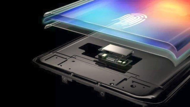 Galaxy S10 Ultrasonik Parmak İzi Okuyucusu