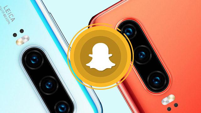Huawei Snapchat