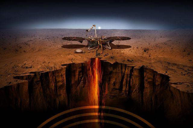 Insight Uzay Aracı / Mars Depremi