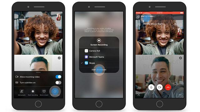 Skype Ekran Paylaşma
