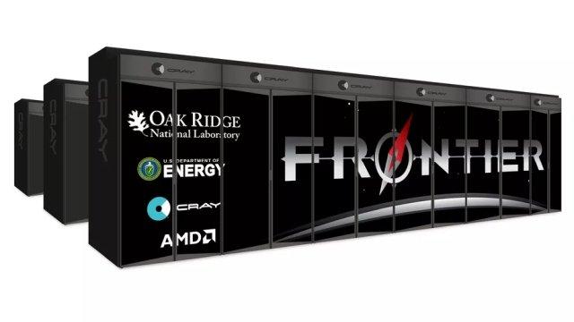 Dünyanın En Hızlı Süper Bilgisayarı Frontier