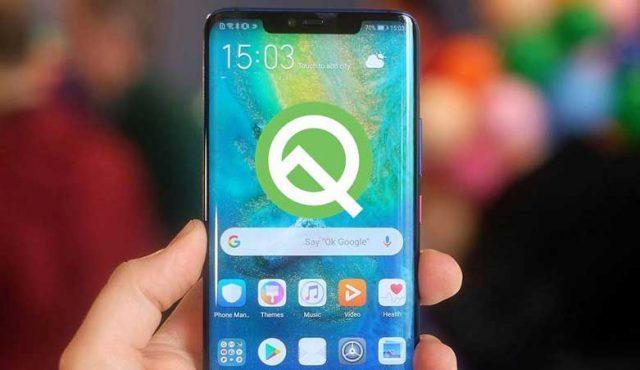 Huawei Android Q beta