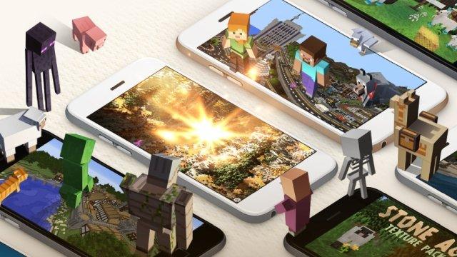 Minecraft Artırılmış Gerçeklik Oyunu