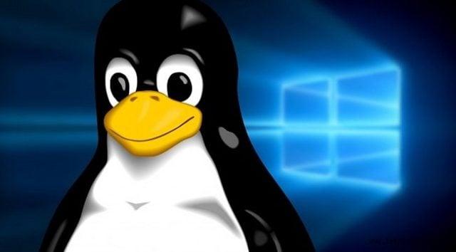 Windows 10 için yerleşik Linux çekirdeği