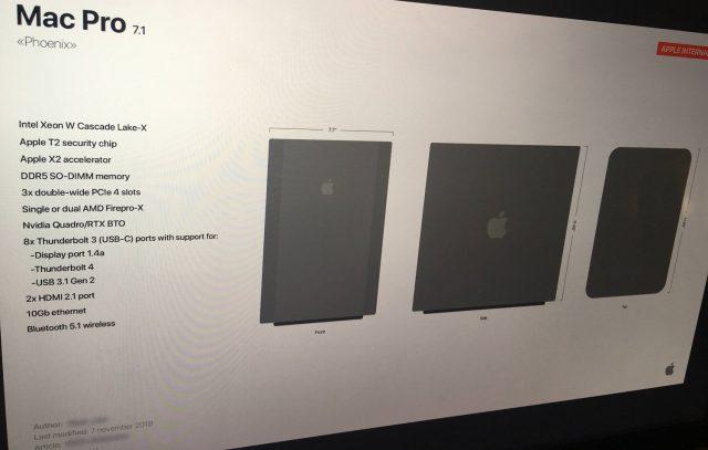 Yeni Mac Pro 2019 Özellikleri