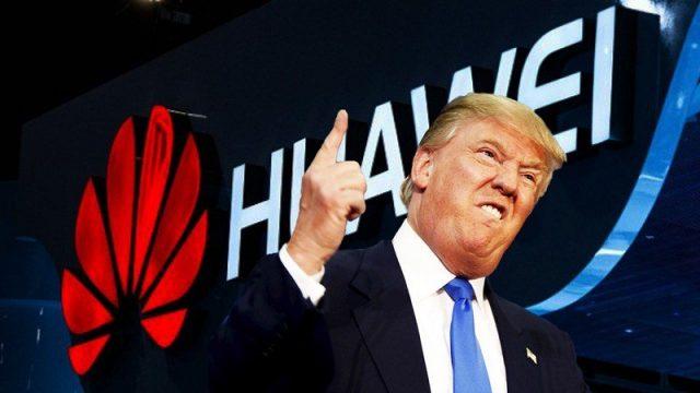 Donald Trump Huawei yasağı