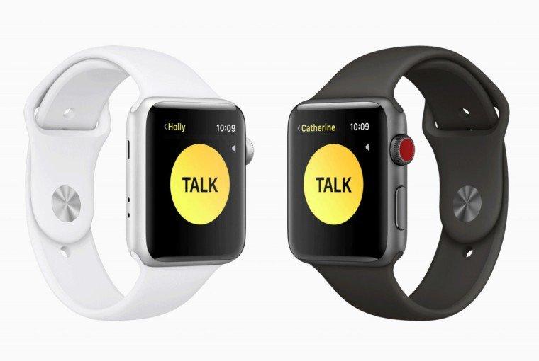 Apple Watch Walkie Talkie