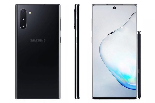 Samsung Galaxy Note 10 Görselleri