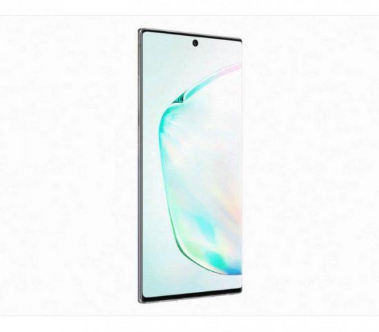 Samsung Galaxy Note 10 tasarımı