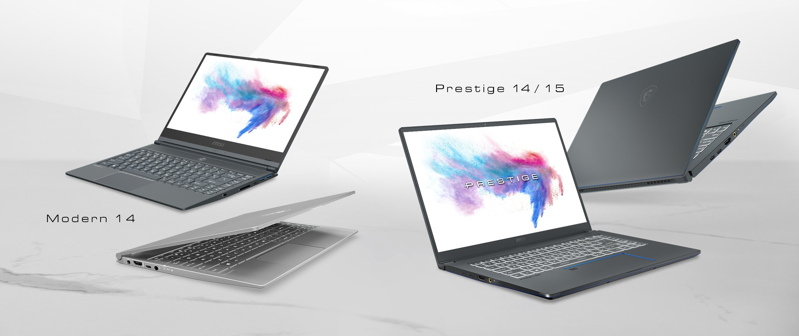 10. Nesil Intel İşlemcili Yeni MSI Prestige serisi