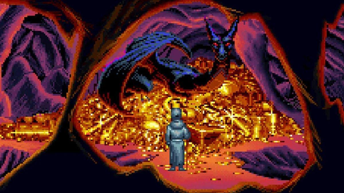 Retro MS-DOS Oyunu
