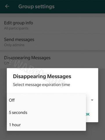 WhatsApp kaybolan mesajlar