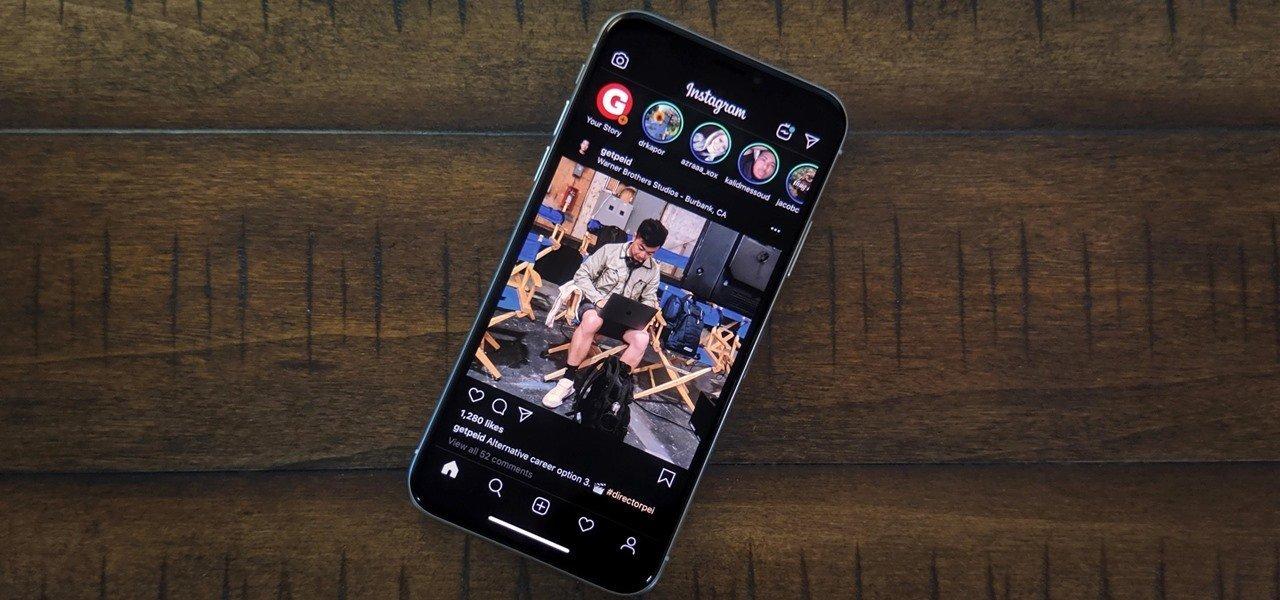 iOS için Instagram karanlık mod özelliği