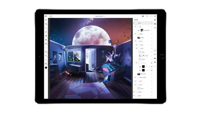 iPad için Adobe Photoshop indir