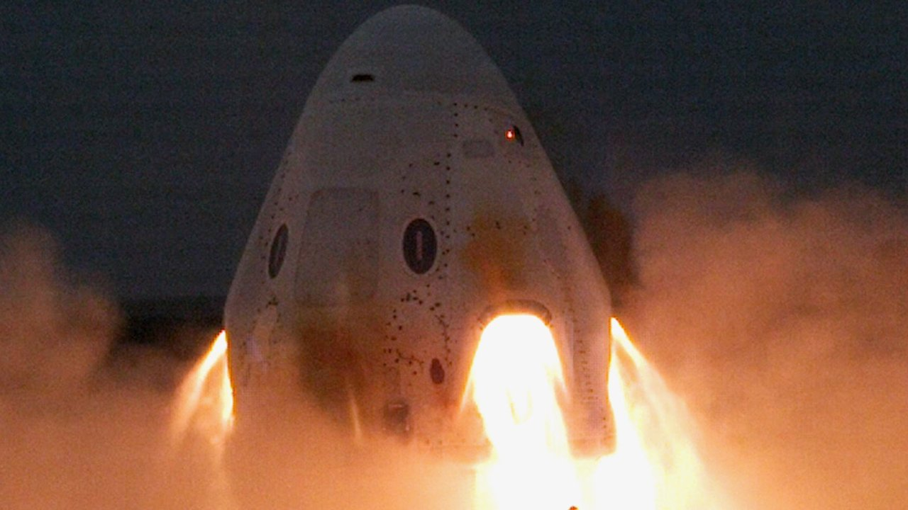 SpaceX Crew Dragon Statik Ateşleme Testleri