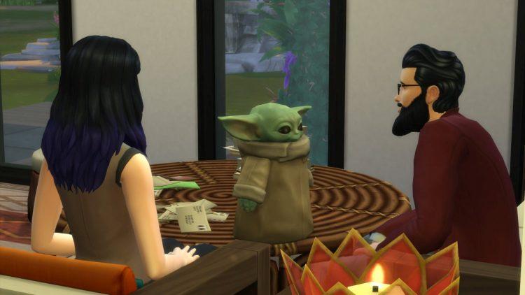 Baby Yoda The Sims 4