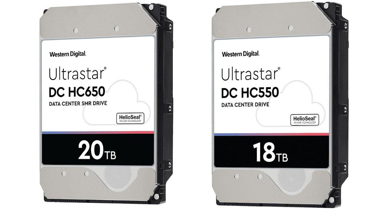 Western Digital 20 TB SMR