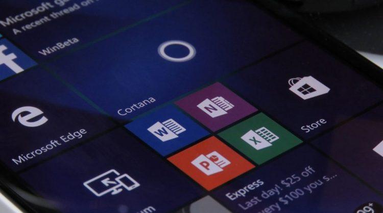 Windows 10 Mobile Office Uygulamaları