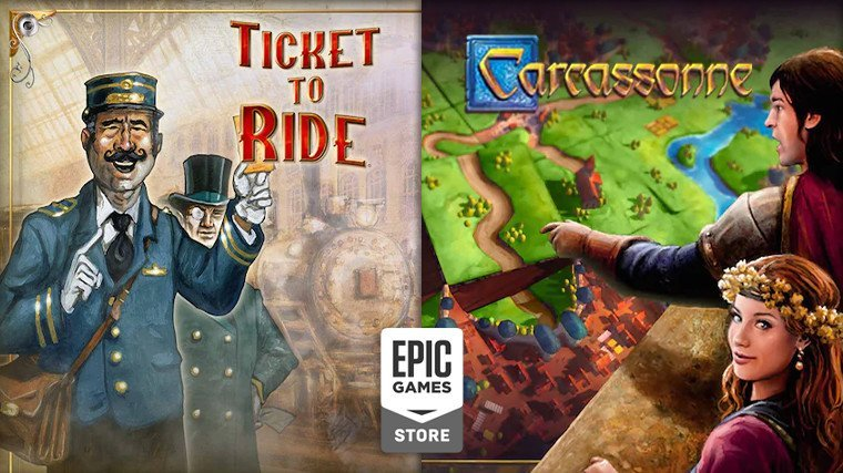 Carcassonne Ticket to Ride Ücretsiz