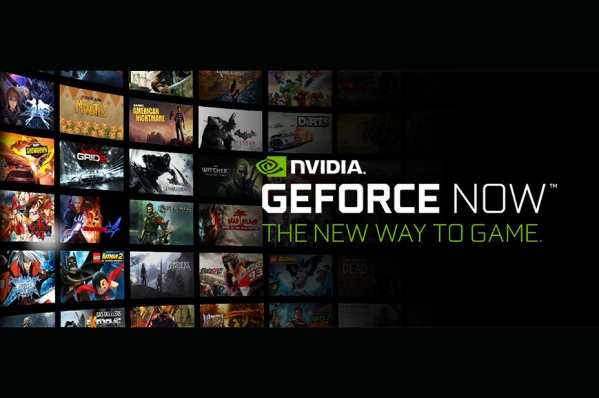 GeForce Now Kütüphanesi