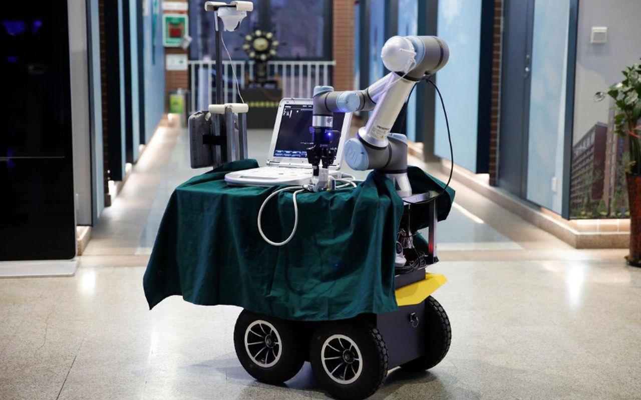 Koronavirüs Robotu