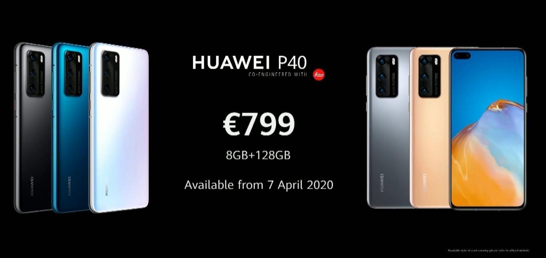 Huawei P40 fiyatı