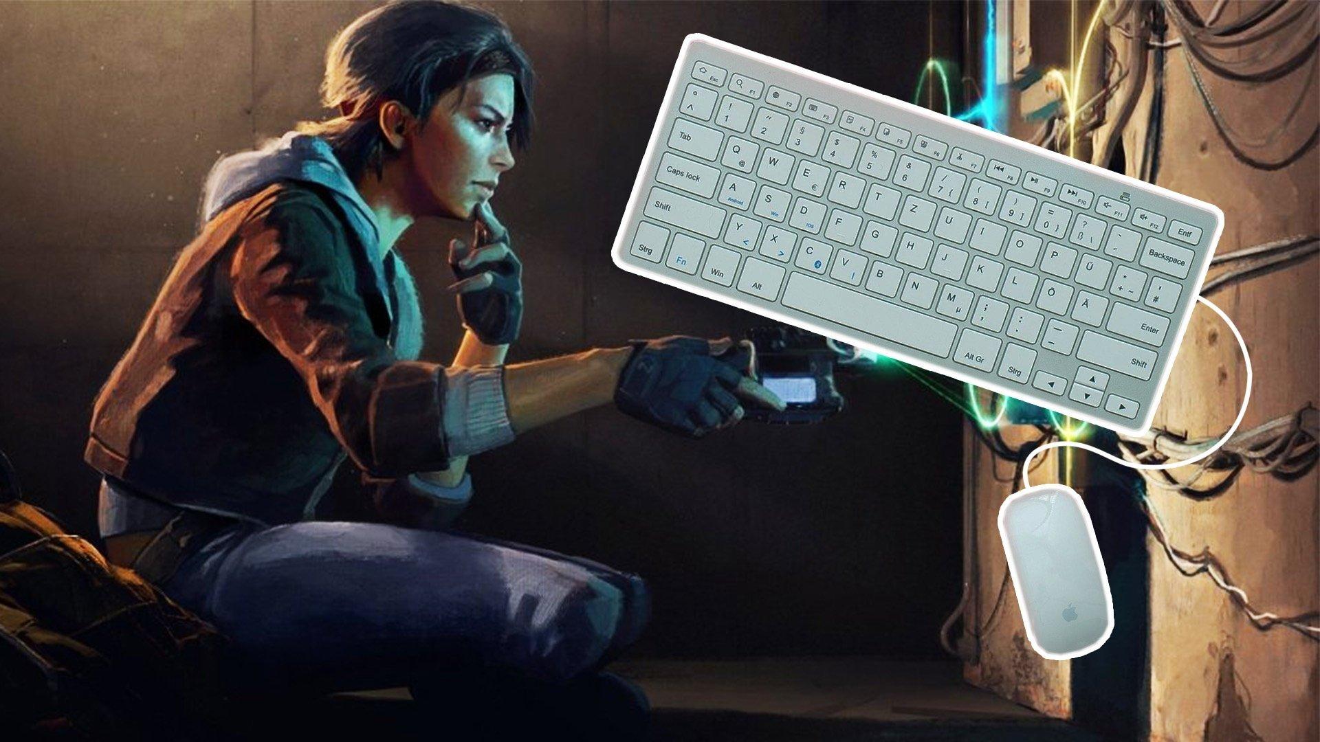 Half Life Alyx klavye ve mouse
