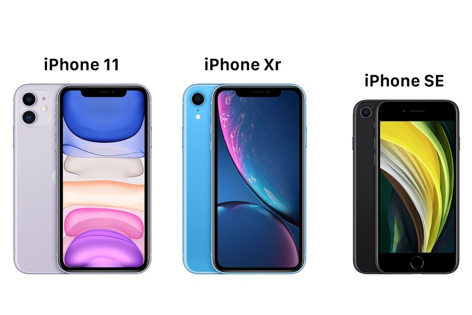 iPhone SE 2020 vs iPhone 11 vs iPhone XR