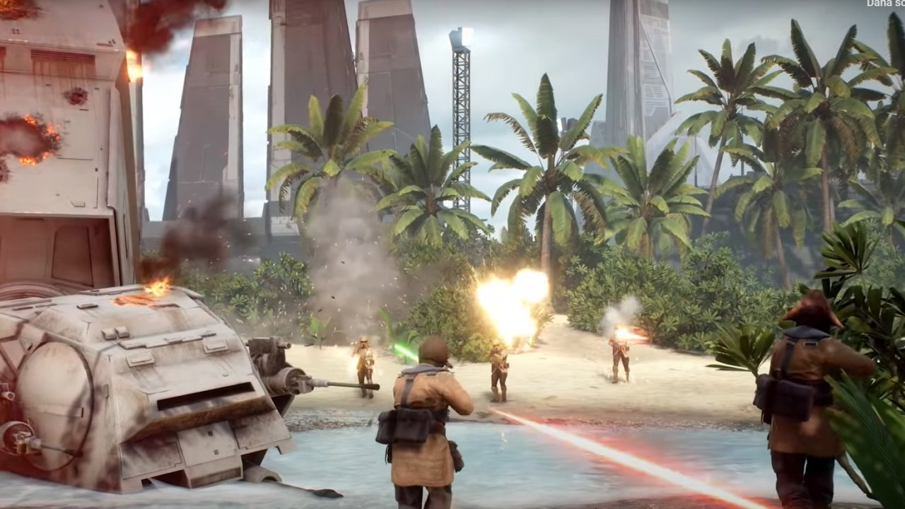 Battlefront 2 The Battle on Scarif