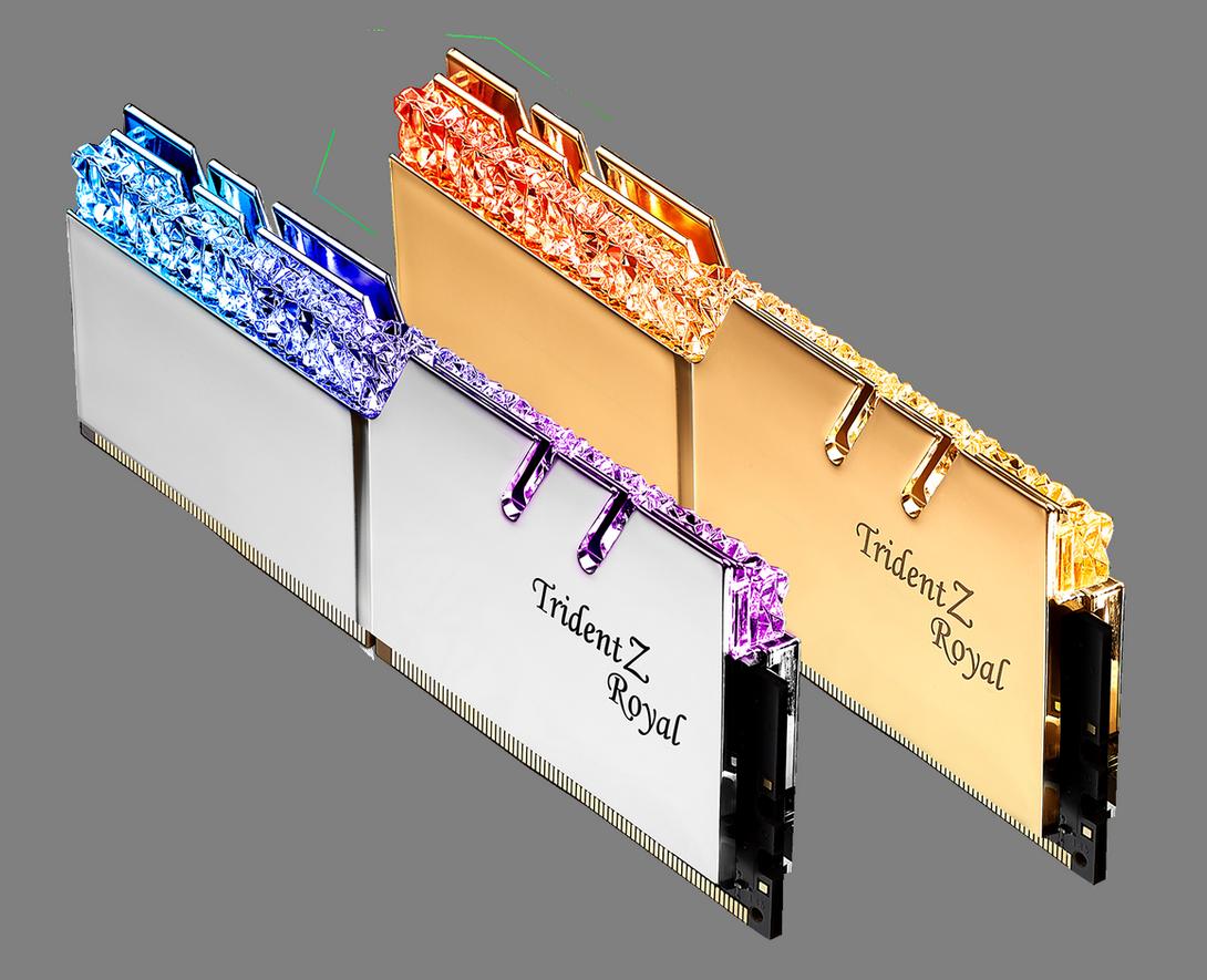 G.SKILL 5000 MHz ve 4400 MHz Bellek