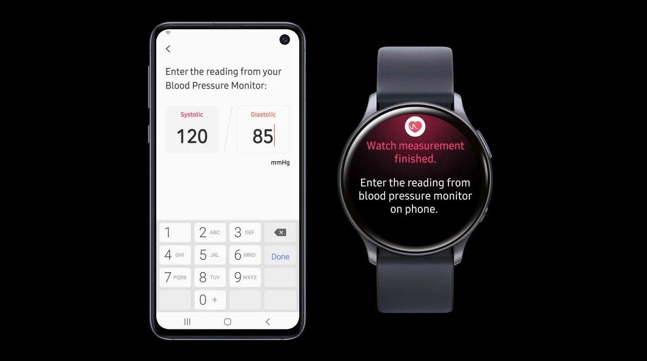 Galaxy Watch Active 2 EKG