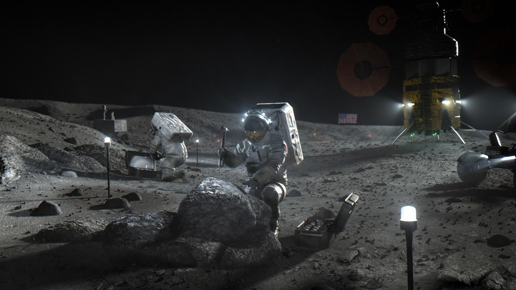 NASA Ay'a insanlı iniş görevi