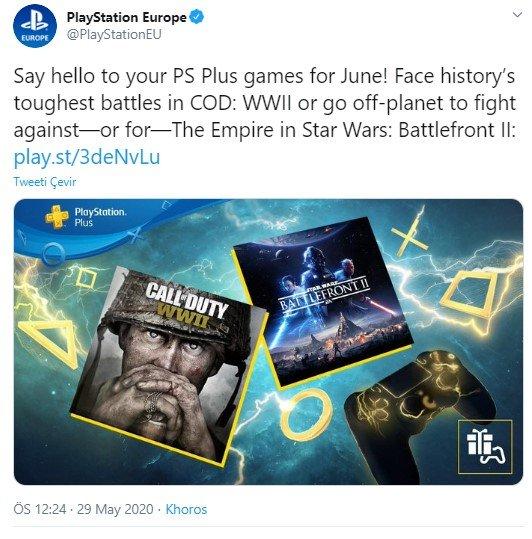 PS Plus Haziran 2020 oyunları