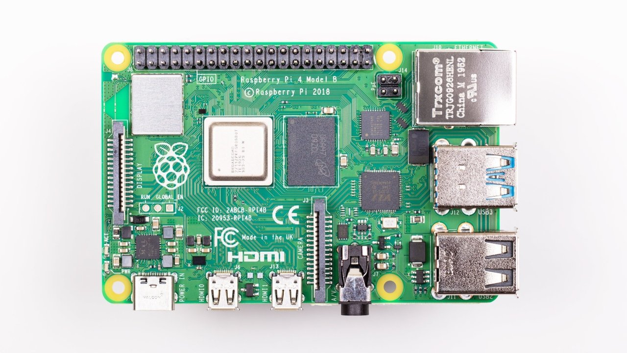 8 GB Raspberry Pi 4