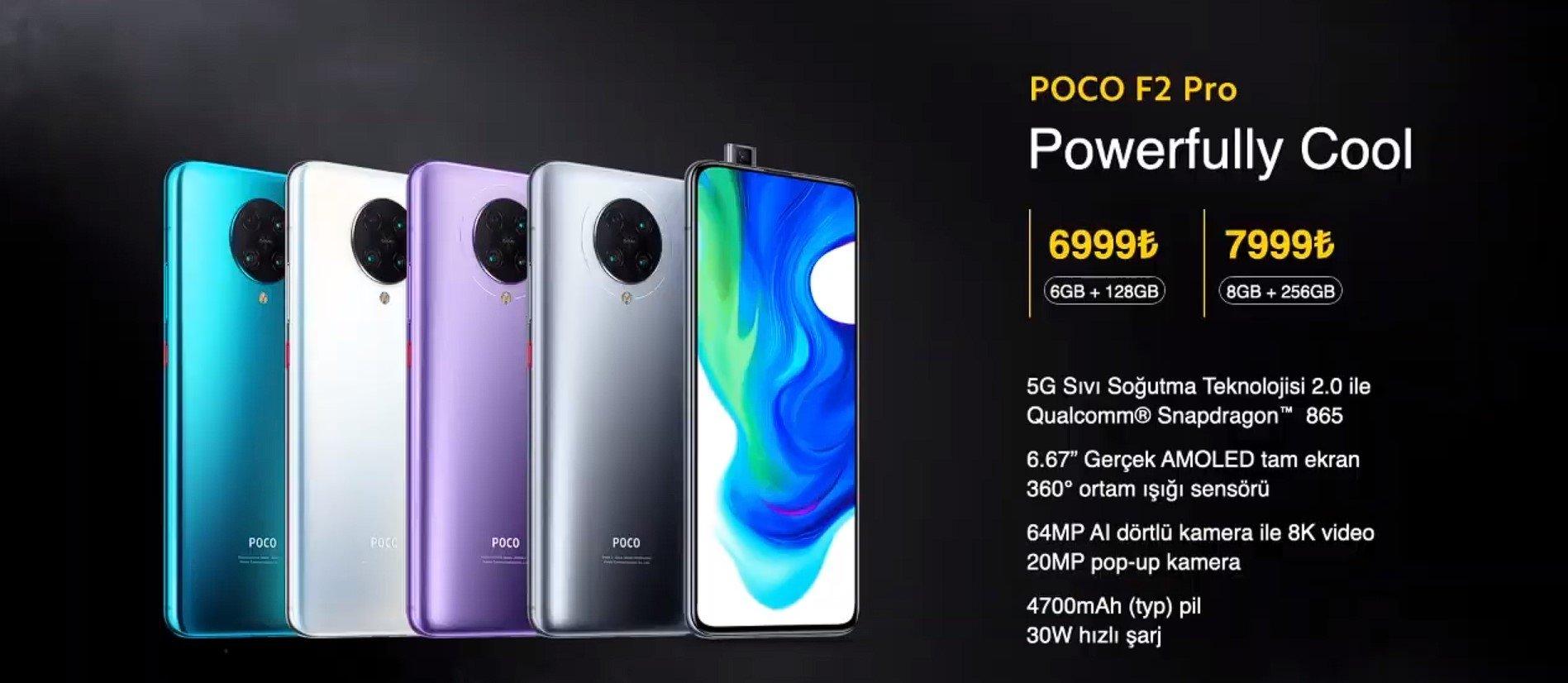 POCO F2 Pro fiyatı