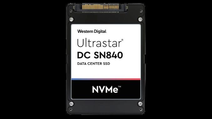 Western Digital DC SN840 Çift Port NVMe SSD