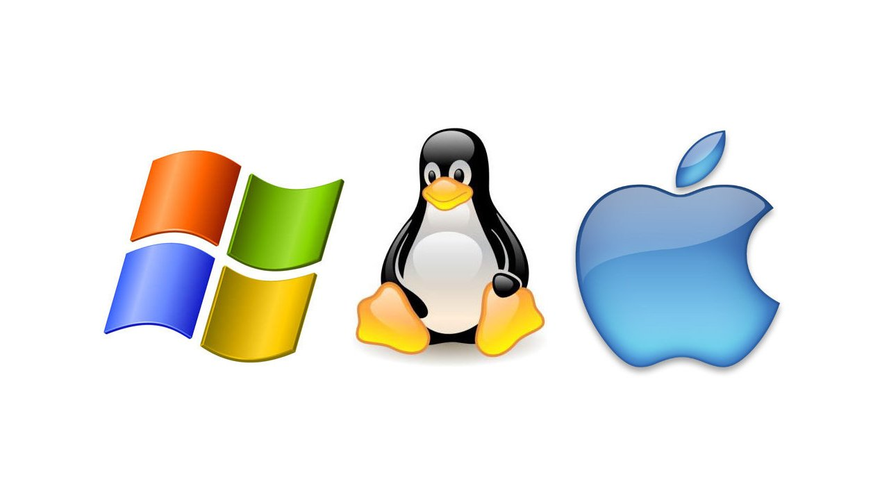Windows, Linux ve macOS