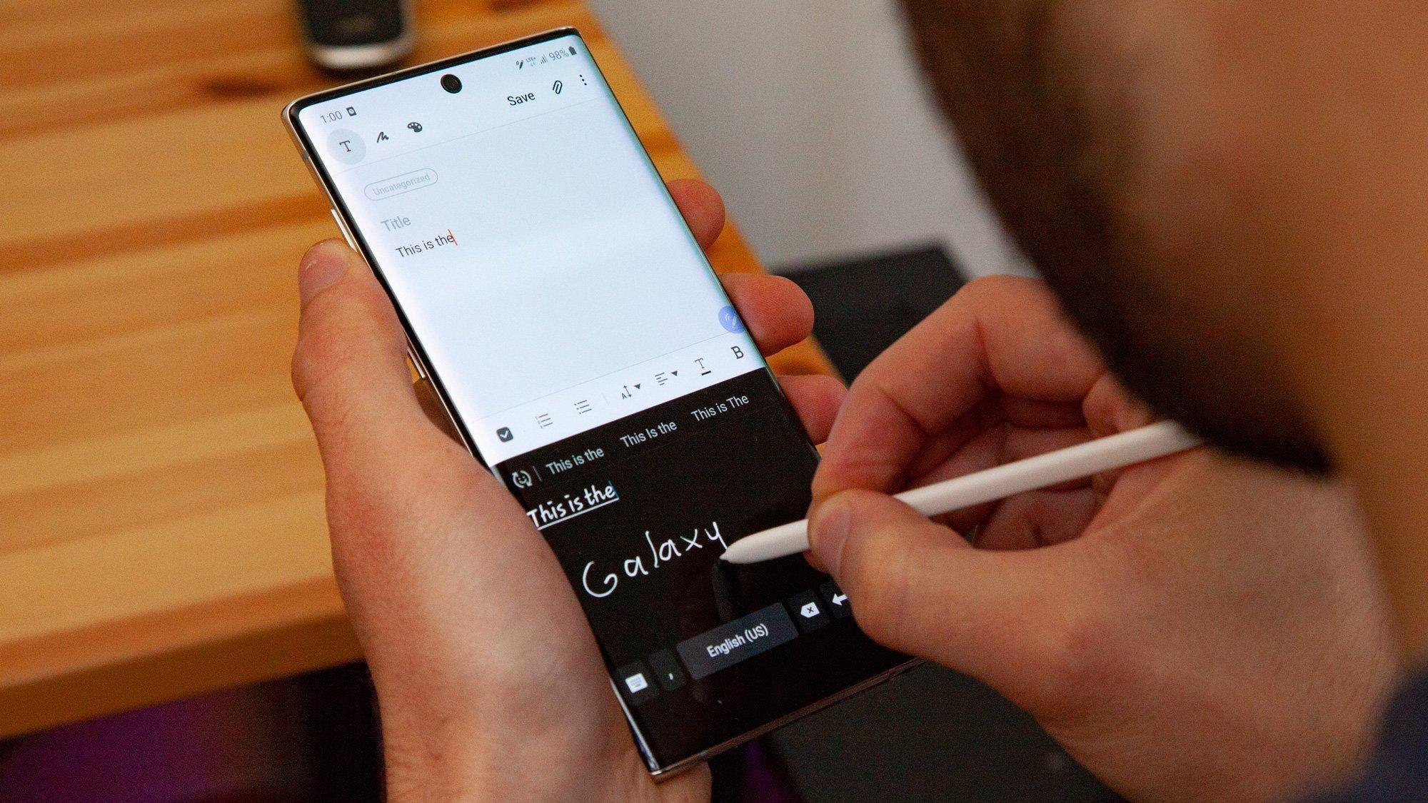 Galaxy Note 20 S-Pen özellikleri