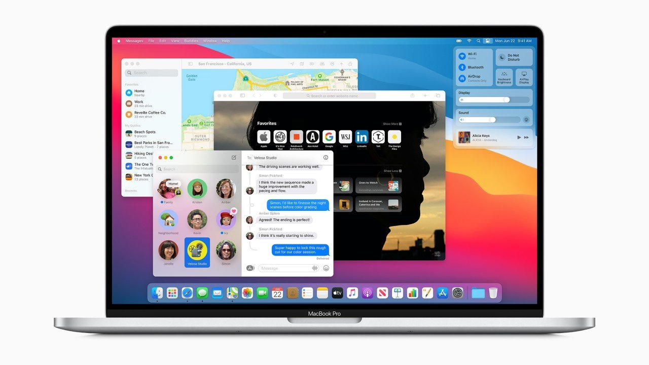 macOS Big Sur Özellikleri