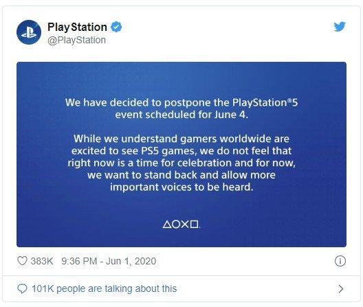 PlayStation 5 Tanıtım Tarihi Ertelendi
