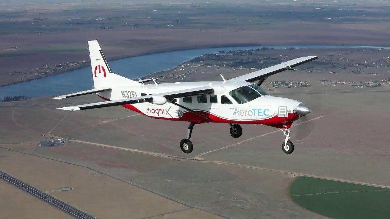 Uçan En Büyük Elektrikli Uçak