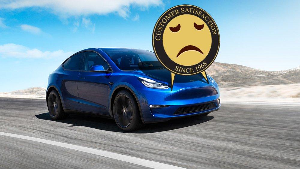 Tesla J.D Power kalite sıralaması