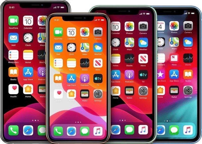 6.1 inç iPhone 12 LG Display
